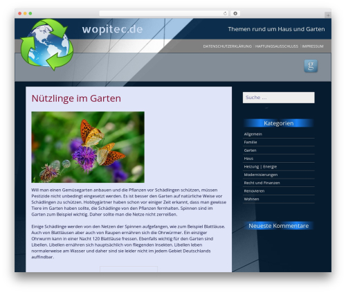 Theme WordPress SG Simple - wopitec.de