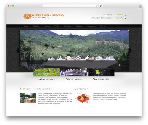 Theme WordPress Welcome Inn - wintergreenresorts.in
