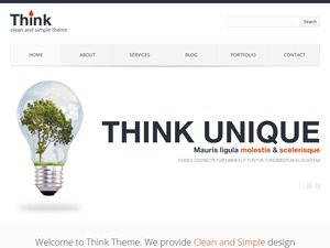 Think business WordPress theme