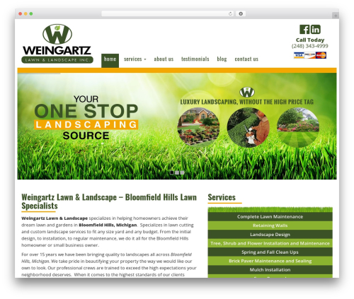 Free WordPress Responsive Lightbox & Gallery plugin - weingartzlawn.com