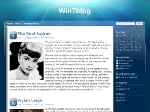 Win7blog WordPress blog template