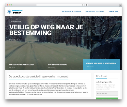 WordPress template LiteMag by Bluthemes - wintersport-boeken.nl