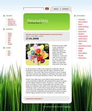 WordPress theme 687 template WordPress