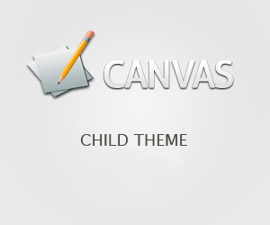 WordPress theme canvas Child