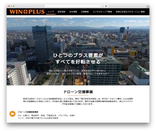 WordPress theme Corporate Plus Pro - win-niigata.com