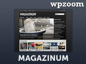 WordPress theme Magazinum
