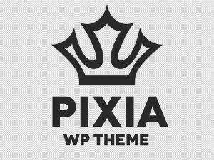 WordPress theme Pixia