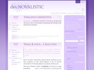 WordPress theme Thistle