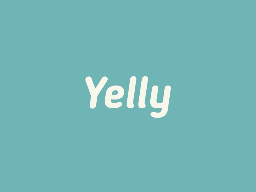 WordPress website template Yelly