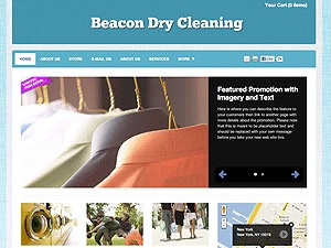 WP template Dry Cleaning Services