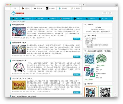WP theme Ality - wmorn.com