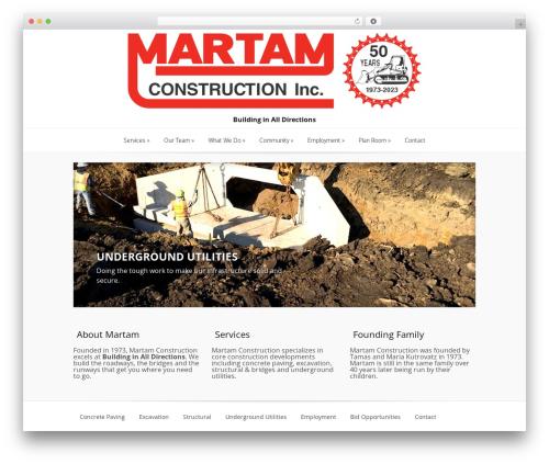Best WordPress template Lucid - martam.com