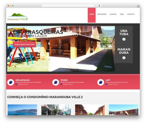 cherry premium WordPress theme - marandubaville2.com.br