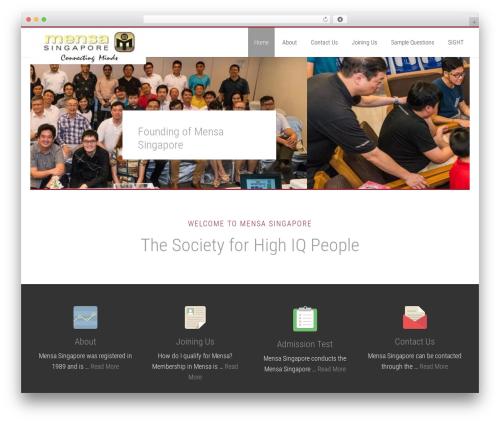 Free WordPress WordPress Follow Buttons Plugin – AddThis plugin - mensa.org.sg