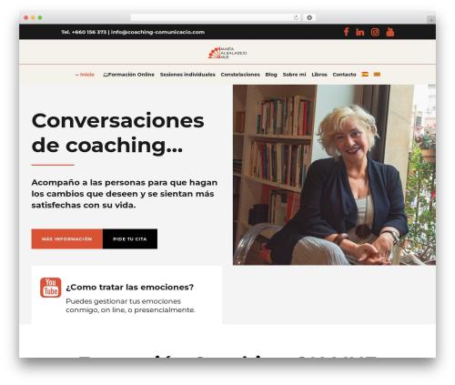 Evently best WordPress theme - martalbaladejo.com