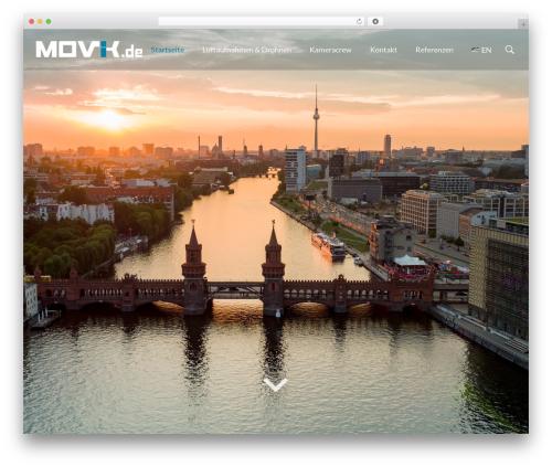 filmic WordPress template - movik.de