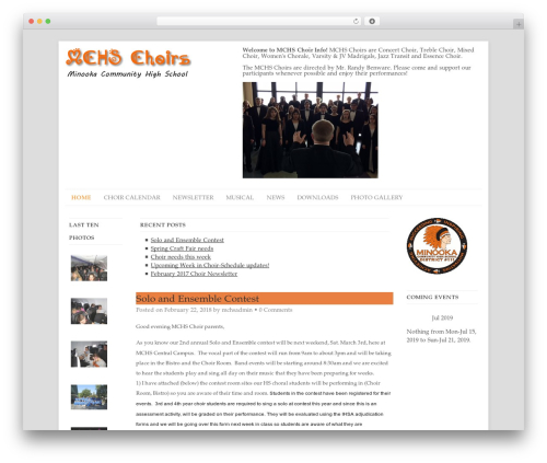 Free WordPress WP Better Attachments plugin - mchschoir.org