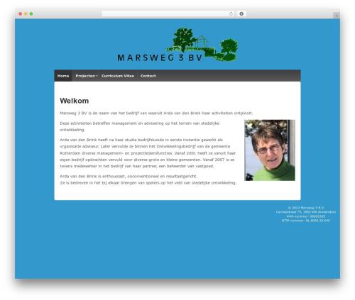 Responsive best free WordPress theme - marsweg3.nl