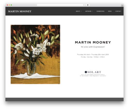 Terminus WordPress theme - martinmooney.ie