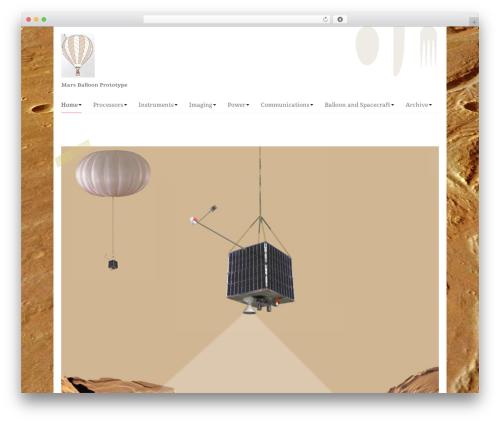Theme WordPress Go Daddy Yummi - marsyard.com