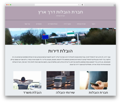 ThemeAlley.Business.Plus WordPress template for business - moving-now.co.il