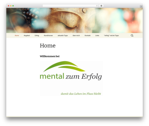 Twenty Thirteen WordPress template free - mental-zum-erfolg.ch