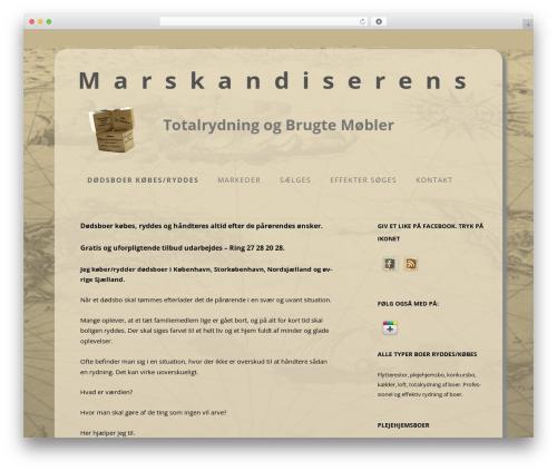 Twenty Twelve template WordPress free - marskandiseren.com