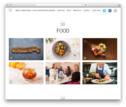 Wall Street WordPress photo theme - martelundbyrekaa.com