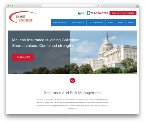 WordPress tmls_testimonials plugin - mcleaninsurance.com