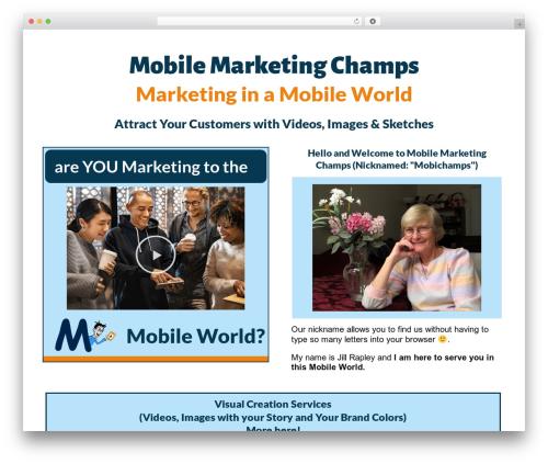 WP theme neve - mobilemarketingchamps.com