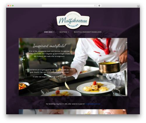 X WordPress page template - matfikseren.no