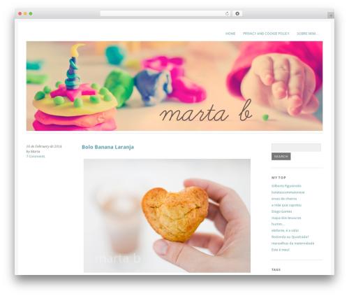 Yoko WordPress template free download - martabatista.com