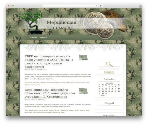 Best WordPress theme Dyne - mirrorlipstik.ru