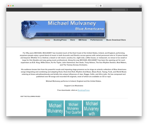 Clearly Modern WordPress travel theme - michaelmulvaney.com