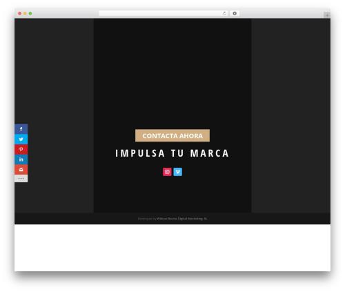 Divi WordPress theme - manurocha.com