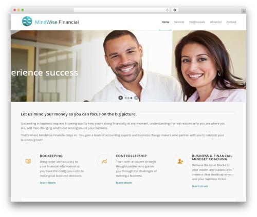 Enfold theme WordPress - mindwisefinancial.com
