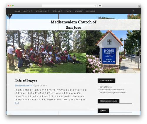 Ex Astris WordPress theme - mcsanjose.org