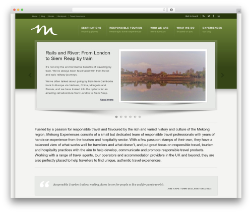 Free WordPress WordPress Related Posts plugin - mekongexperiences.com