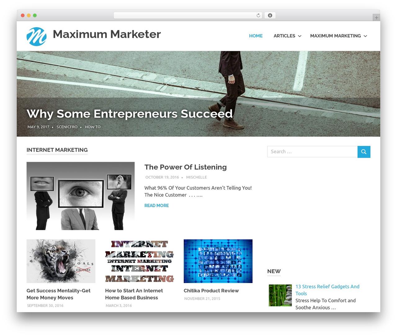 Poseidon WordPress free download - maximummarketer.com