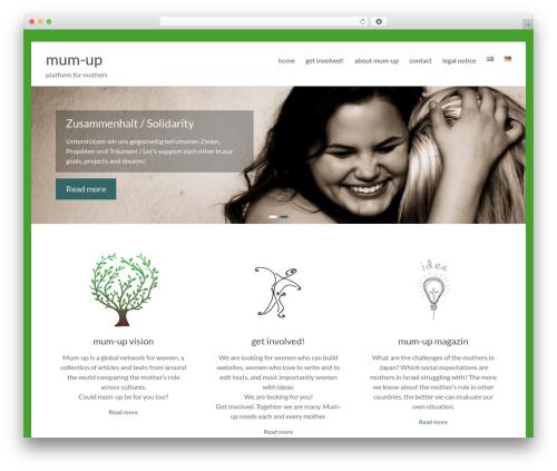 Free WordPress Polylang plugin - mum-up.org/?lang=en