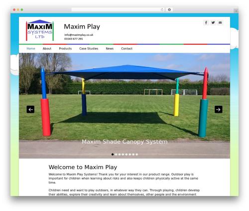 WordPress theme Catch Base Pro - maximplay.co.uk