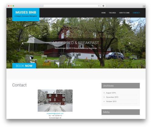 WordPress theme SKT Hotel Lite - musesbnb.com
