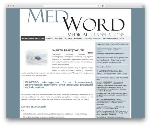 Codium Extend free WordPress theme - medword.pl
