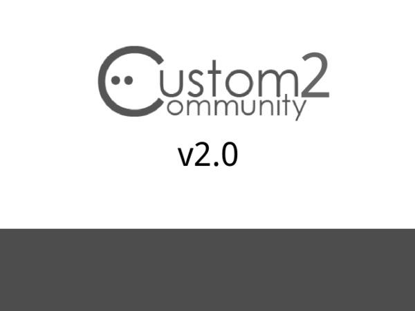 Custom Community 2 WordPress shop theme