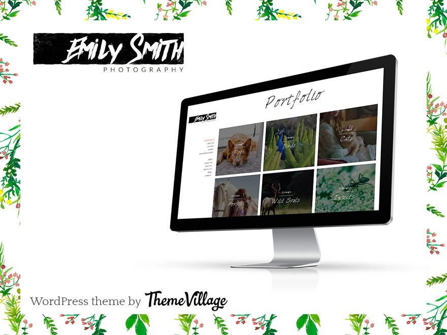 Emily Child theme WordPress
