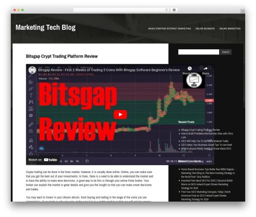 Gibson WordPress blog template - mtb-blog.com