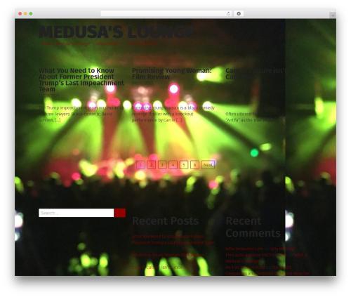 Grid Magazine best WordPress template - medusalounge.com