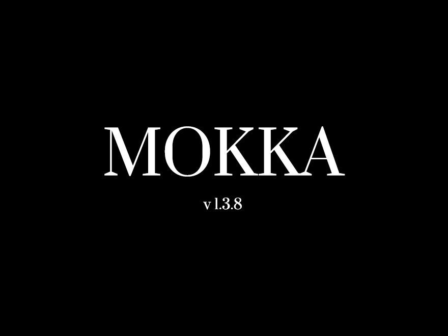 Mokka WordPress blog theme