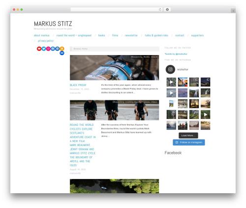 WordPress instagram-shortcode-and-widget plugin - markusstitz.com