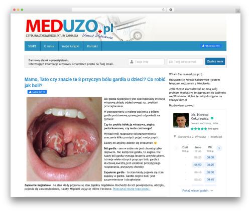 Simon WP Framework WordPress blog theme - meduzo.pl